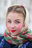 Russian beauty Stock Photography