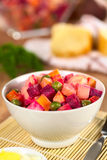 Russian Beetroot Salad Royalty Free Stock Image