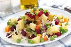 Russian beetroot salad Royalty Free Stock Photo