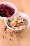 Russian beetroot salad vinaigrette Royalty Free Stock Photography