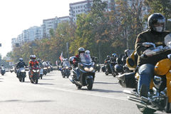 Russian Bikers Royalty Free Stock Images