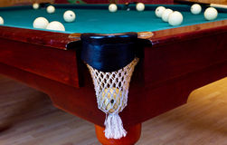 Russian billiard Stock Image