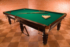 Russian billiard Royalty Free Stock Photo