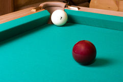 Russian billiards. Stock Photo