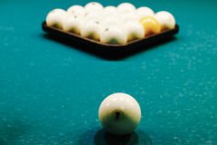 Russian Billiards Stock Image