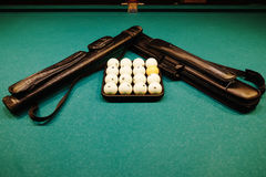 Russian Billiards Royalty Free Stock Photo