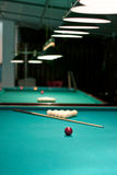 Russian billiards and pool Royalty Free Stock Photos