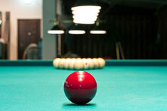 Russian billiards and pool Stock Photography