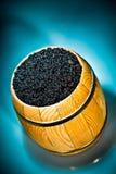 Russian Black Caviar Royalty Free Stock Photos