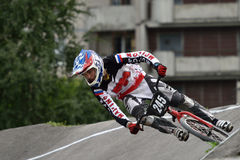 Russian BMX Cruiser Championship 2015 Stock Photography