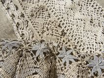 Russian bobbin lace. Stock Images