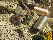 Russian bobbin lace. Stock Photography