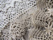 Russian bobbin lace. Royalty Free Stock Images