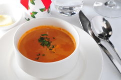 Russian borsch Royalty Free Stock Photo
