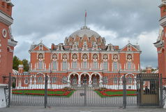Russian Brick palace Royalty Free Stock Photography