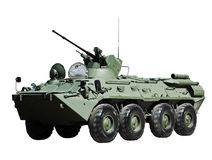 Russian BTR-82 armored personnel carrier royalty free stock photos