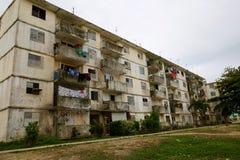 Russian-Built Apartment Building, Cuba Stock Images