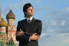Russian businessman Stock Image