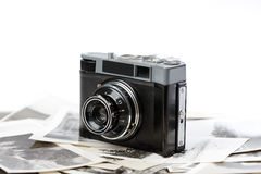 Russian camera Stock Photo