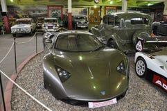 Russian car racing Marusya 1 royalty free stock photo