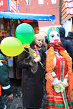 Russian Carnival (Maslenitsa) 2011, Moscow Stock Photo