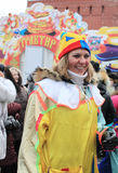 Russian Carnival (Maslenitsa) 2011, Moscow Royalty Free Stock Photo