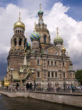 Russian cathedral Royalty Free Stock Images