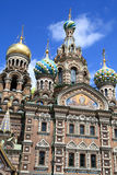 Russian cathedral. The Russian cathedral in summer, St. Petersburg Royalty Free Stock Photography
