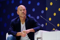 Russian celebrity Fyodor Bondarchuk. Skolokovo, Russia - October 16, 2017: Russian celebrity Fyodor Bondarchuk speaking at Open Innovations 2017 forum Royalty Free Stock Image