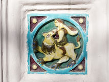 Russian ceramic Royalty Free Stock Image