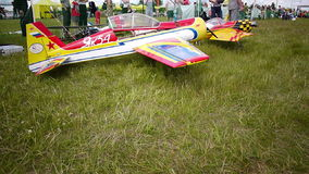 Russian championship in the sport aircraft modeling Royalty Free Stock Image