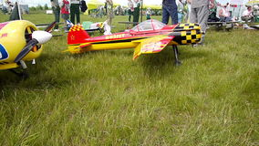 Russian championship in the sport aircraft modeling Royalty Free Stock Images