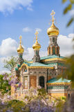 Russian Chapel Royalty Free Stock Photo
