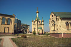 Russian Chapel in the Caucasus. Stock Image