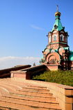 Russian chapel Stock Photography
