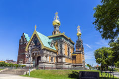 Russian Chapel in Darmstadt Stock Photography