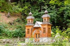 Free Russian Chapel, Slovenia Stock Photography - 34098462
