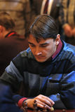 Russian chess Grandmaster, Alexander Morozevich Stock Images