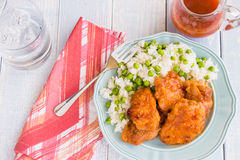 Russian Chicken Thighs Stock Images