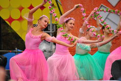 Russian Childrens Ballet Royalty Free Stock Photo