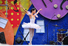 Russian Childrens Ballet Stock Photography