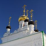 Russian chirch Iverskaya in Orel Royalty Free Stock Photos