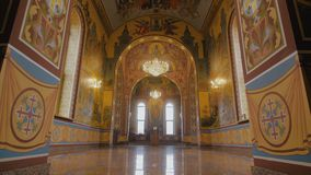 Russian Christian Church stock video footage
