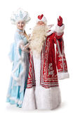 Russian Christmas characters Stock Photo