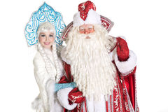 Russian Christmas characters Royalty Free Stock Photography