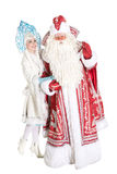 Russian Christmas characters Royalty Free Stock Image