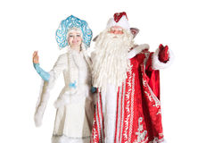 Russian Christmas characters Stock Photos