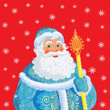 Russian Christmas and New Year Father Frost. Royalty Free Stock Photos