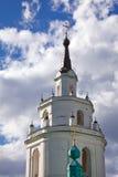 Russian church. Belltower of old russian church Stock Photography