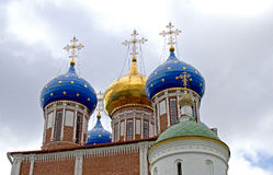 Russian Church stock photo